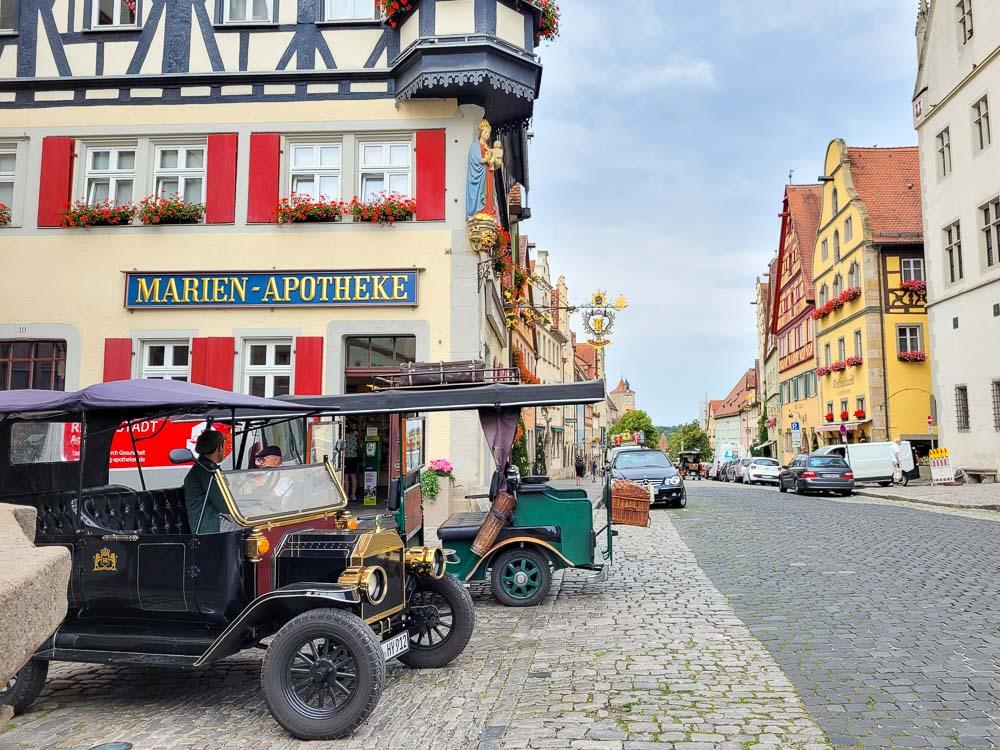 Rothenburg ob der Tauber Sehenswürdigkeiten Stadtrundfahrt