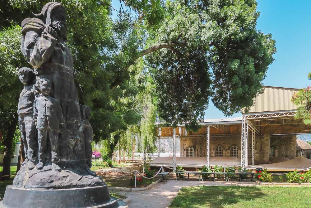 Statue Nikolaus von Myra in Demre Antalya