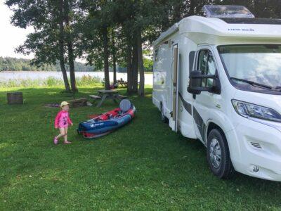 Naturcamping mit Kindern