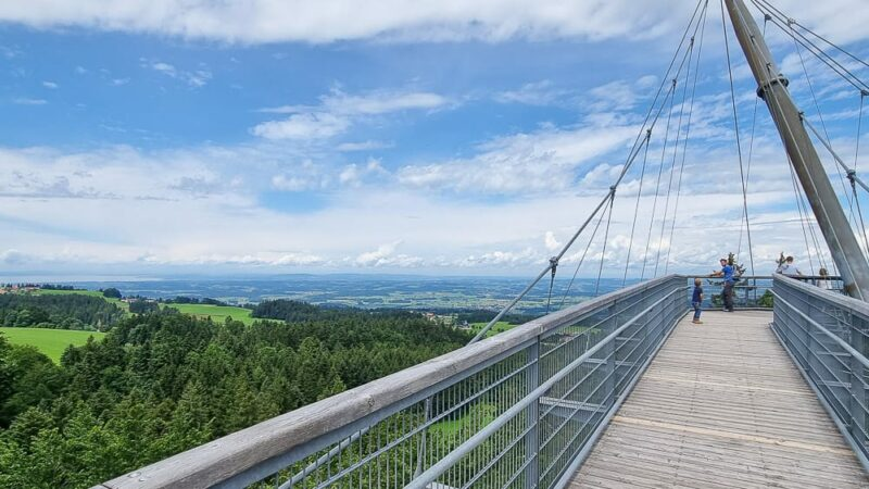 Der Skywalk Allgäu in Scheidegg