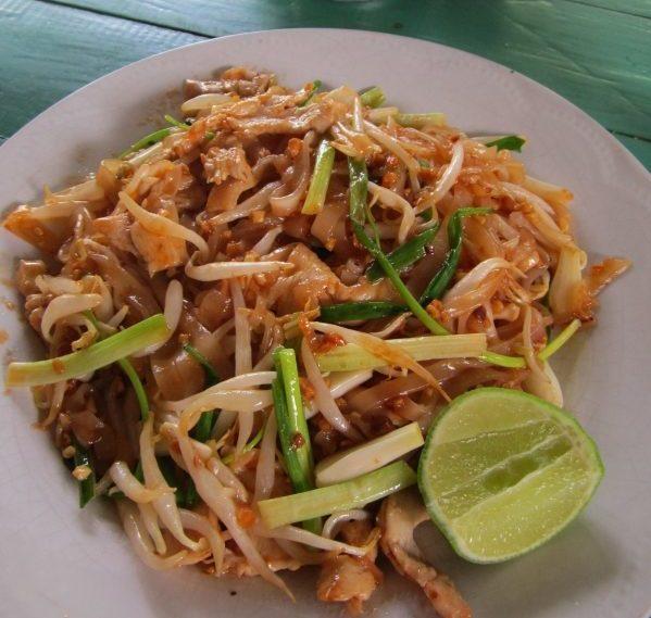 Thai Gericht Pad Thai - Gebratene Nudeln